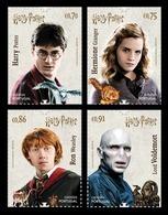 Portugal 2019 Mih. 4530/33 Cinema. Harry Potter MNH ** - Neufs