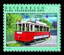 Austria 2019 Mih. 3476 Gmunden Tramway MNH ** - 1945-.... 2nd Republic