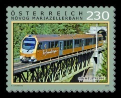 Austria 2019 Mih. 3486 Mariazell Railway. Train MNH ** - 1945-.... 2nd Republic