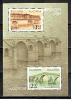Bulgarien / Bulgaria / Bulgarie 2018 Block/souvernir Sheet EUROPA ** - 2018