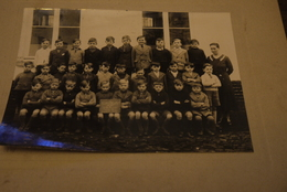 Aalst  St Camielstraat 1916-1917 Klasfoto - Historische Dokumente