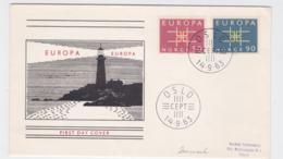 Norway 1963 FDC Europa CEPT (G106-52) - Europa-CEPT