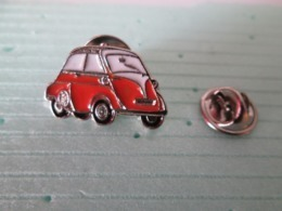 PIN'S    BMW  ISETTA  ORANGE    Email A Froid - BMW