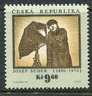 CZECH REPUBLIC 1996 Josef Sudek Centenary MNH / **.  Michel 103 - Ungebraucht