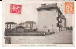 Cpa Givors - Cité P.L.M , Rue Gabriel Cordier . - Givors