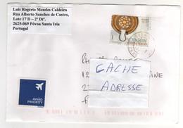 Beau Timbre , Stamp Sur Lettre , Cover , Mail Pour La France - 1910-... República