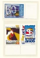 ECUADOR  Mi. Nr.  2489-2491 60 Jahre Salinas Yacht Club - LEUCHTTURM - MNH - Faros