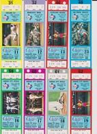 COLLECTION : Ticket Baseball TEXAS RANGERS - MINNESOTA TWINS 12/06/1984 MLB Major League Baseball - Tickets D'entrée