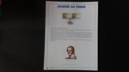 Belgique 1999 : FEUILLET D'ART EN OR 23 CARATS.Timbre Numéro 2817/18 - Belgium