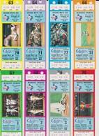 COLLECTION : Ticket Baseball TEXAS RANGERS - MILWAUKEE BREWERS 01/09/1984 MLB Major League Baseball - Tickets D'entrée