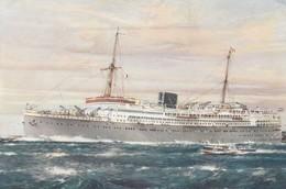 D M S BALOERAN, ROTTERDAMSCHE LLOYD - Dampfer