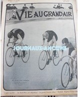 1904 CYCLISME - AU PARC DES PRINCES -  RUTT - ELLEGAARD - BARDGETT - LE GRAND PRIX DE LA RÉPUBLIQUE - Livres, BD, Revues