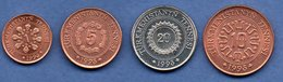 Turkmenistan  /  Lot De 4 Monnaies - Turkmenistan