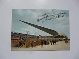 CPA BELGIQUE - BRUXELLES : Exposition Universelle De Bruxelles 1958 - La Flèche Du Génie Civil - Exposiciones Universales