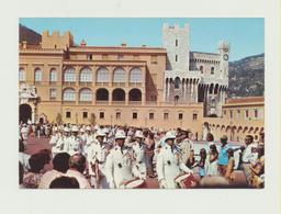 AK - Principaute De Monaco - Palais Du Prince - Reléve De La Garde  !!!!  - ( 137 ) - Palacio Del Príncipe
