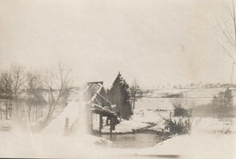 Photo 1915 GERBEVILLER - La Passerelle Sur La Mortagne, Pont De La Mort (A216, Ww1, Wk 1) - Gerbeviller