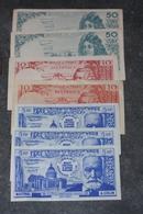 Lot De 7 Billets Scolaires école 50F Racine, 10F Voltaire, 5F Pasteur - ASCO à Juziers 78 Et A. Colin - School Bank Note - Fictifs & Spécimens