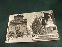 JUGOSLAVIA LUBIAJNA LJUBLJANA  GRAND HOTEL UNION CICLISTI MONUMENTO  CHIESA EGLISE ANNULLO A TARGA - Jugoslavia