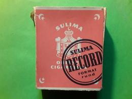 RARE Paquet De Cigarettes Troupes Allemandes ORIENT SUBLIMA RECORD DRESDEN A 21 Wehrmacht Guerre Reich  1939 - 1945 - Altri