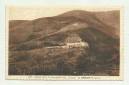 S.BRIGIDA  ( FIRENZE ) SANTUARIO DELLA MADONNA DEL SASSO  - NV FP - Firenze (Florence)
