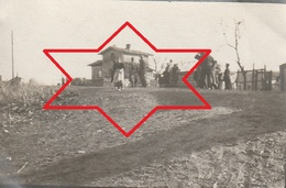 Photo 1915 MONCEL-LES-LUNEVILLE - La Gare, Le Passage à Niveau (A216, Ww1, Wk 1) - Otros Municipios
