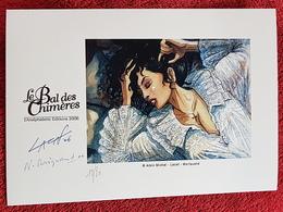 Ex-Libris - LE BAL DES CHIMERES - Lacaf, Moriquand - Numéroté. Signé. 2006. Etat Parfait - Illustrateurs J - L