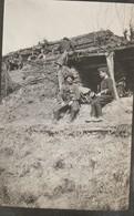 Photo 14-18 AVRICOURT - Dragons Et Chasseurs Alpins Dans Les Tranchées Abris (A216, Ww1, Wk 1) - Guerra 1914-18