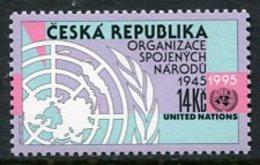 CZECH REPUBLIC 1995 UNO 50th Anniversary MNH / **.  Michel 90 - Neufs