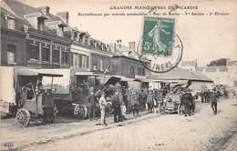 BUCHY - Ravitaillement Par Convois Automobiles - 1ère Section - 5e Division - Militaria - Grandes Manoeuvres - Buchy