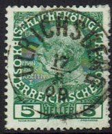 Osterreich 1908, MiNr 142, Gestempelt - Gebraucht