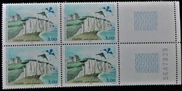 Vends Sous La Faciale Bloc De 4 Timbres Neufs** N°3239 De France Année 1999 - Unused Stamps