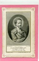 CANIVET - Saint Benoit Joseph Labre - Gravure - Images Religieuses