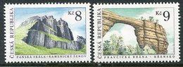 CZECH REPUBLIC 1995 Geological Formations MNH / **.  Michel 78-79 - Czech Republic