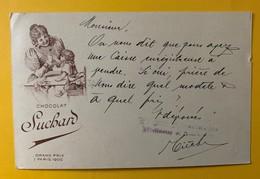 9464 - Chocolat Suchard Femme Et Enfant Bévillard 19.11.1913 - Entiers Postaux