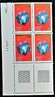Vends Sous La Faciale Bloc De 4 Timbres Neufs** N°3290 De France Année 1999 - Unused Stamps