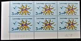 Vends Sous La Faciale Bloc De 6 Timbres Neufs** N°3241 De France Année 1999 - Unused Stamps