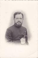 LOT 2 CPA RELIGION CATHOLIQUE - Photo De 2 Prêtres Dont Abbé Aumonier Jacquet Charles à CHOLET 49 Institution Ste Marie - Cholet