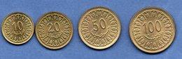 Tunisie /  Lot De 4 Monnaies - Venezuela