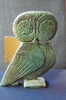 Grèce - Chouette Antique En Bronze - Réplique De Musée - Animaux