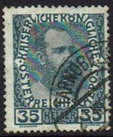 Osterreich 1908, MiNr 149, Gestempelt - Gebruikt