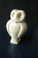 Grèce - Chouette En Pierre Sculptée - Animaux