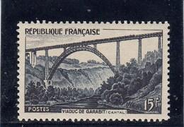 France - 1952 - N° YT 928** - Viaduc De Garabit - Francia