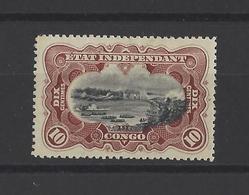 CONGO BELGE.  YT  N° 17  Neuf *  1894 - Belgisch-Kongo