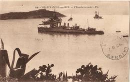 06 - VILLEFRANCHE SUR MER - L'ESCADRE EN RADE - Villefranche-sur-Mer