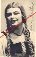 Mariane Balhant - Opera Carmen 1955 Gent - Photo 8x13cm - Gehandtekend/signed - Photos