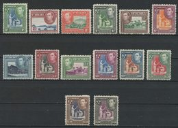 ST VINCENT 1949 N° 140/153 * Neufs MH Trace Charnière  TTB C 50 € Georges VI Vues Iles Young Fort Duvernette Victoria - St.Vincent (...-1979)