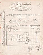 03-A.Duchet ..Verreries De Montluçon........Montluçon...(Allier)...1877 - Autres