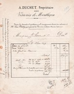 03-A.Duchet ..Verreries De Montluçon........Montluçon...(Allier)...1877 - Sonstige