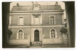 Carte Photo Maison ( Photo  MORISSEAU De Ingrandes Sur Loire 49  ) - France