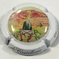 146 - Champagne De Castellane écriture Fantaisie Sur Contour (bouteille Dans La Vigne) - De Castellane